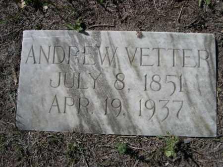 VETTER, ANDREW - Dawes County, Nebraska | ANDREW VETTER - Nebraska Gravestone Photos