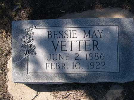 VETTER, BESSIE MAY - Dawes County, Nebraska | BESSIE MAY VETTER - Nebraska Gravestone Photos