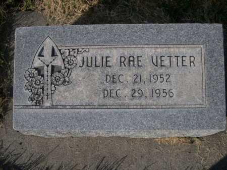 VETTER, JULIE RAE - Dawes County, Nebraska | JULIE RAE VETTER - Nebraska Gravestone Photos