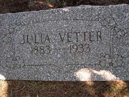 VETTER, JULIA - Dawes County, Nebraska   JULIA VETTER - Nebraska Gravestone Photos
