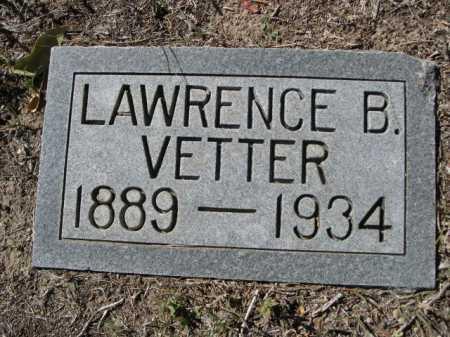 VETTER, LAWRENCE B. - Dawes County, Nebraska   LAWRENCE B. VETTER - Nebraska Gravestone Photos