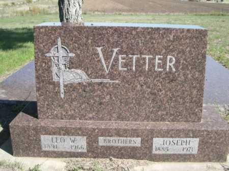 VETTER, JOSEPH - Dawes County, Nebraska | JOSEPH VETTER - Nebraska Gravestone Photos