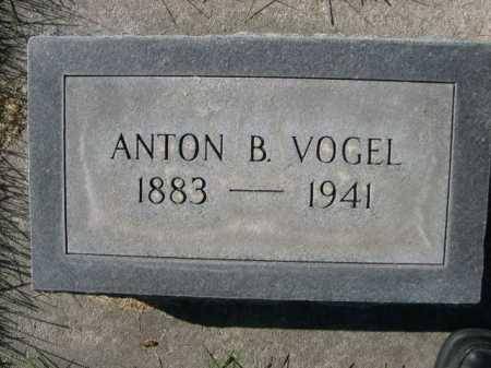 VOGEL, ANTON B. - Dawes County, Nebraska | ANTON B. VOGEL - Nebraska Gravestone Photos