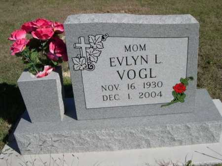 VOGL, EVLYN L. - Dawes County, Nebraska | EVLYN L. VOGL - Nebraska Gravestone Photos