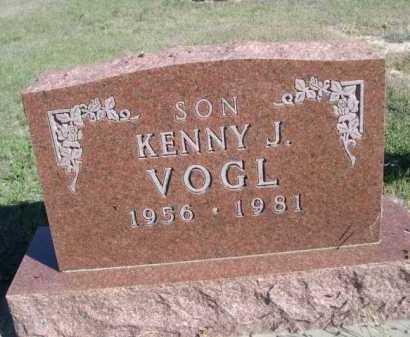 VOGL, KENNY J. - Dawes County, Nebraska   KENNY J. VOGL - Nebraska Gravestone Photos