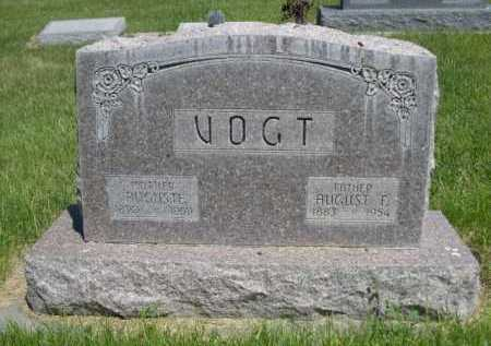 VOGT, AUGUST F. - Dawes County, Nebraska   AUGUST F. VOGT - Nebraska Gravestone Photos