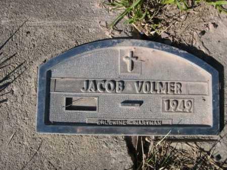VOLMER, JACOB - Dawes County, Nebraska   JACOB VOLMER - Nebraska Gravestone Photos