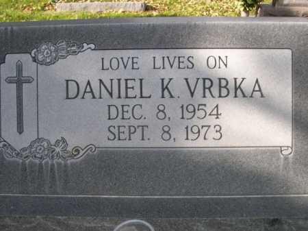 VRBKA, DANIEL K. - Dawes County, Nebraska | DANIEL K. VRBKA - Nebraska Gravestone Photos