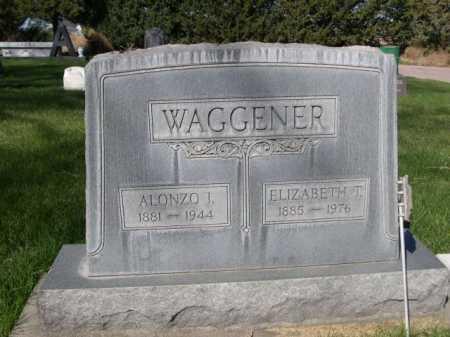 WAGGENER, ALONZO J. - Dawes County, Nebraska | ALONZO J. WAGGENER - Nebraska Gravestone Photos