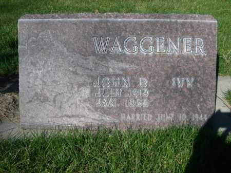 WAGGENER, JOHN D. - Dawes County, Nebraska | JOHN D. WAGGENER - Nebraska Gravestone Photos