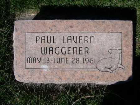 WAGGENER, PAUL LAVERN - Dawes County, Nebraska | PAUL LAVERN WAGGENER - Nebraska Gravestone Photos