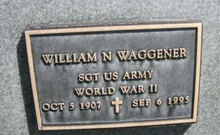 WAGGENER, WILLIAM N. - Dawes County, Nebraska   WILLIAM N. WAGGENER - Nebraska Gravestone Photos