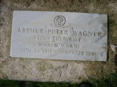 WAGNER, ARTHUR PETER - Dawes County, Nebraska | ARTHUR PETER WAGNER - Nebraska Gravestone Photos