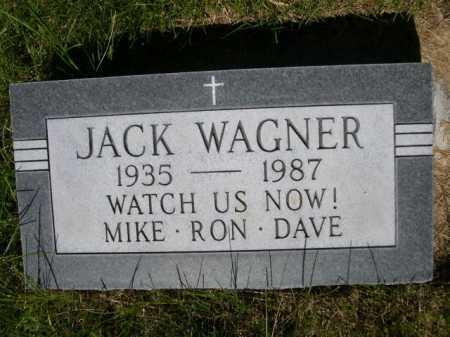 WAGNER, JACK - Dawes County, Nebraska | JACK WAGNER - Nebraska Gravestone Photos