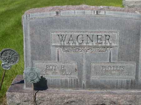 WAGNER, ROY H. - Dawes County, Nebraska | ROY H. WAGNER - Nebraska Gravestone Photos
