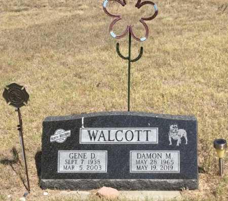 WALCOTT, GENE D. - Dawes County, Nebraska | GENE D. WALCOTT - Nebraska Gravestone Photos