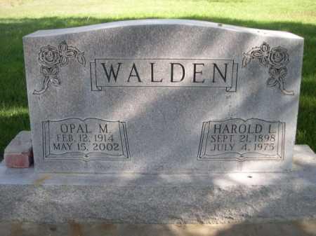WALDEN, HAROLD L - Dawes County, Nebraska | HAROLD L WALDEN - Nebraska Gravestone Photos