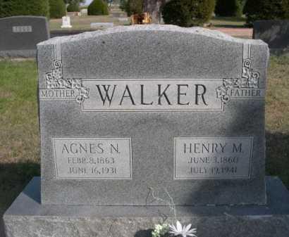 WALKER, AGNES N. - Dawes County, Nebraska | AGNES N. WALKER - Nebraska Gravestone Photos