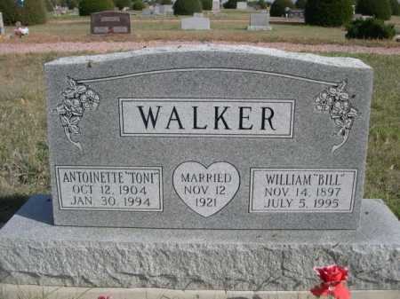 "WALKER, WILLIAM ""BILL"" - Dawes County, Nebraska | WILLIAM ""BILL"" WALKER - Nebraska Gravestone Photos"