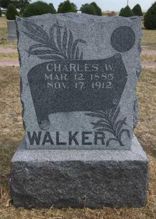 WALKER, CHARLES W. - Dawes County, Nebraska | CHARLES W. WALKER - Nebraska Gravestone Photos