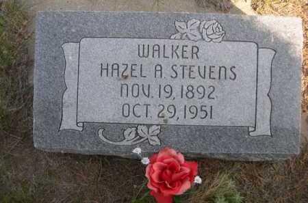 STEVENS WALKER, HAZEL A. - Dawes County, Nebraska | HAZEL A. STEVENS WALKER - Nebraska Gravestone Photos
