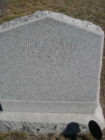 WALKER, JOHN B. - Dawes County, Nebraska | JOHN B. WALKER - Nebraska Gravestone Photos