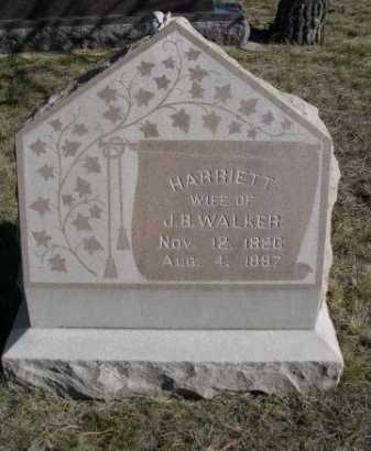 WALKER, JARRIETT - Dawes County, Nebraska | JARRIETT WALKER - Nebraska Gravestone Photos
