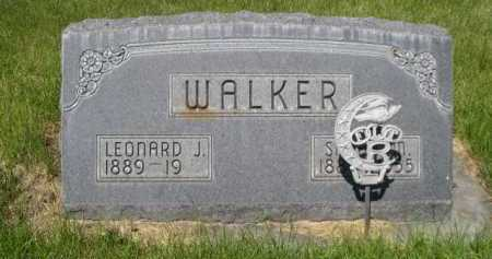 WALKER, SARAH M. - Dawes County, Nebraska | SARAH M. WALKER - Nebraska Gravestone Photos