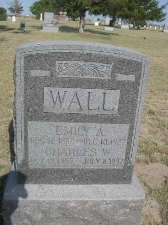 WALL, CHARLES W. - Dawes County, Nebraska | CHARLES W. WALL - Nebraska Gravestone Photos