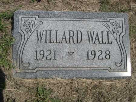 WALL, WILLARD - Dawes County, Nebraska | WILLARD WALL - Nebraska Gravestone Photos