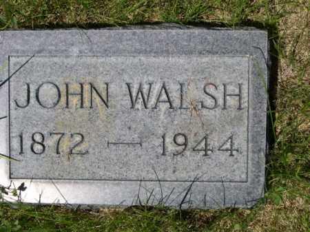 WALSH, JOHN - Dawes County, Nebraska | JOHN WALSH - Nebraska Gravestone Photos