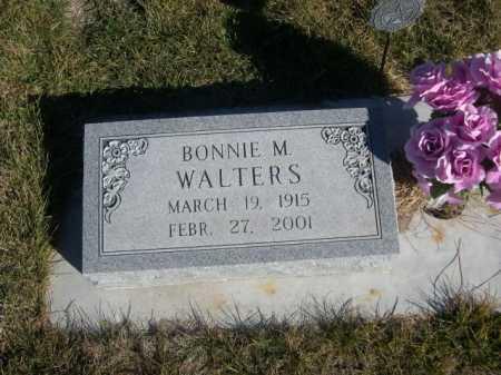 WALTERS, BONNIE M. - Dawes County, Nebraska | BONNIE M. WALTERS - Nebraska Gravestone Photos