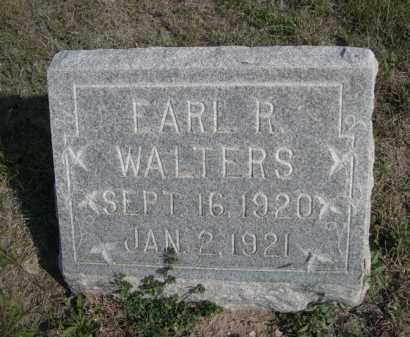 WALTERS, EARL R. - Dawes County, Nebraska   EARL R. WALTERS - Nebraska Gravestone Photos