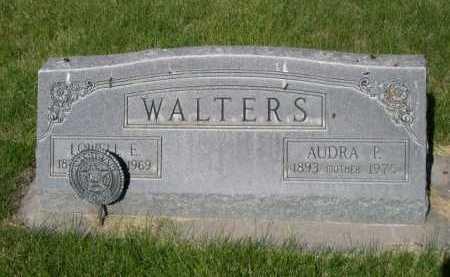 WALTERS, AUDRA P. - Dawes County, Nebraska | AUDRA P. WALTERS - Nebraska Gravestone Photos