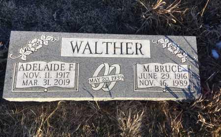 WALTHER, M. BRUCE - Dawes County, Nebraska | M. BRUCE WALTHER - Nebraska Gravestone Photos