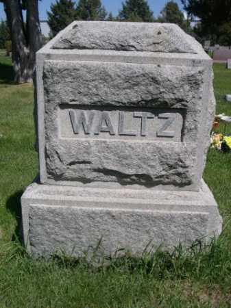 WALTZ, FAMILY - Dawes County, Nebraska   FAMILY WALTZ - Nebraska Gravestone Photos