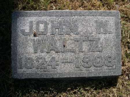 WALTZ, JOHN W. - Dawes County, Nebraska | JOHN W. WALTZ - Nebraska Gravestone Photos