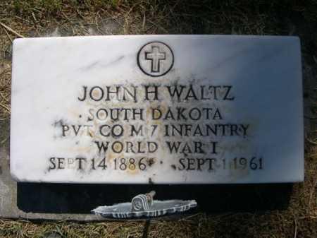 WALTZ, JOHN H. - Dawes County, Nebraska | JOHN H. WALTZ - Nebraska Gravestone Photos