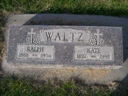 WALTZ, RALPH - Dawes County, Nebraska | RALPH WALTZ - Nebraska Gravestone Photos