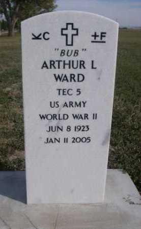 "WARD, ARTHUR L. ""BUB"" - Dawes County, Nebraska   ARTHUR L. ""BUB"" WARD - Nebraska Gravestone Photos"
