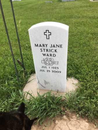 WARD, MARY JANE - Dawes County, Nebraska | MARY JANE WARD - Nebraska Gravestone Photos