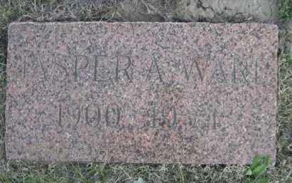 WARE, JASPER A. - Dawes County, Nebraska   JASPER A. WARE - Nebraska Gravestone Photos
