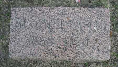 WARE, MINNIE L. - Dawes County, Nebraska | MINNIE L. WARE - Nebraska Gravestone Photos