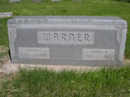 WARNER, FRANK H. - Dawes County, Nebraska | FRANK H. WARNER - Nebraska Gravestone Photos