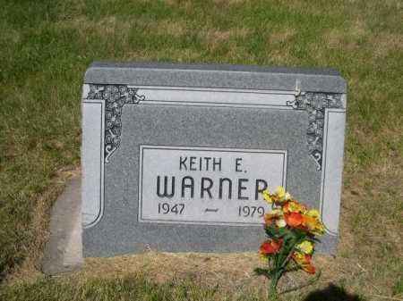 WARNER, KEITH E. - Dawes County, Nebraska   KEITH E. WARNER - Nebraska Gravestone Photos