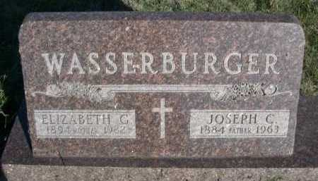 WASSERBURGER, ELIZABETH G. - Dawes County, Nebraska | ELIZABETH G. WASSERBURGER - Nebraska Gravestone Photos