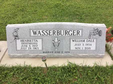 WASSERBURGER, HENRIETTA - Dawes County, Nebraska | HENRIETTA WASSERBURGER - Nebraska Gravestone Photos