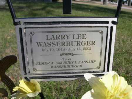 WASSERBURGER, LARRY LEE - Dawes County, Nebraska | LARRY LEE WASSERBURGER - Nebraska Gravestone Photos