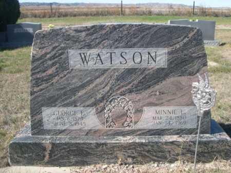 WATSON, MINNIE L. - Dawes County, Nebraska | MINNIE L. WATSON - Nebraska Gravestone Photos