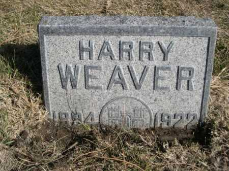 WEAVER, HARRY - Dawes County, Nebraska | HARRY WEAVER - Nebraska Gravestone Photos